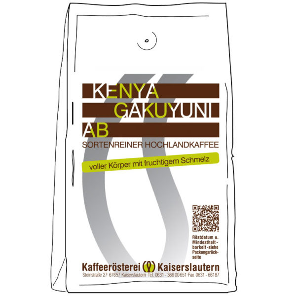 Kenia Arabica Kaffee