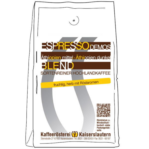 Espresso 100% Arabica kaufen - Demos