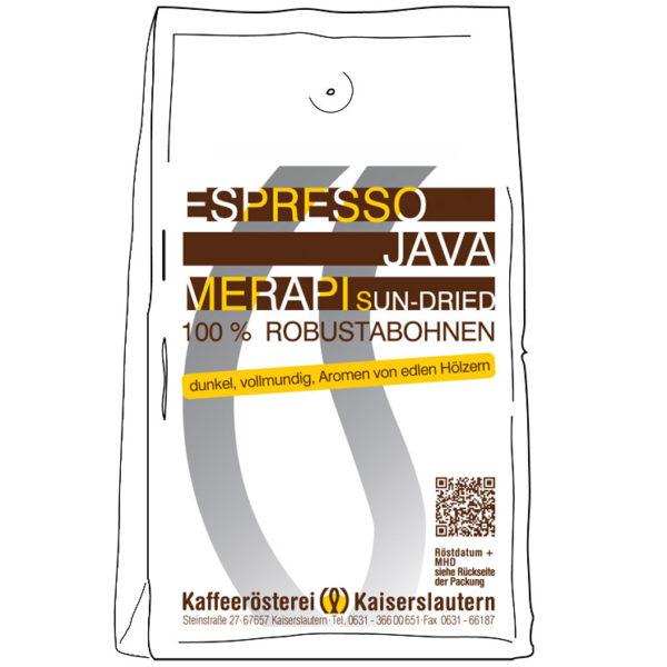 Espresso Robusta kaufen - Merapi