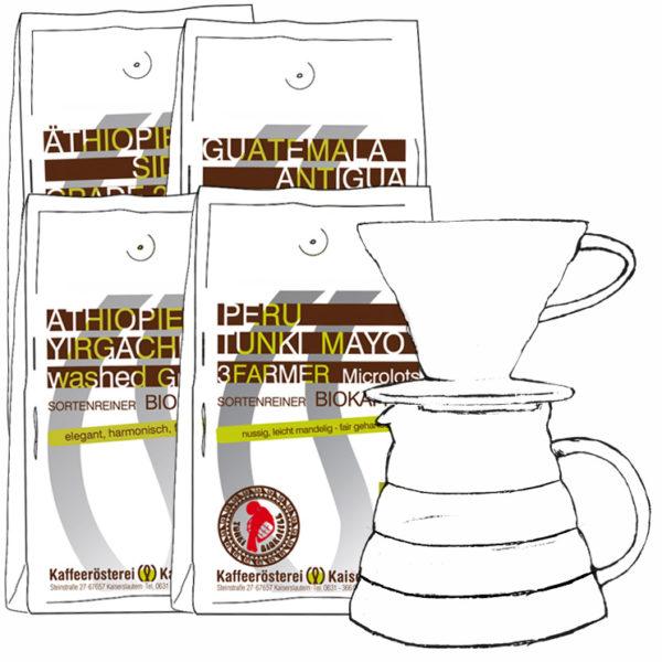 Kaffee Probierset Filterkaffee